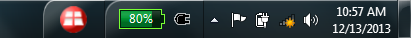 Screenshot of taskbar icons.