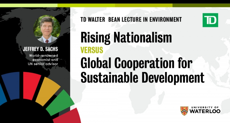 TD Walter Bean Lecture in Environment banner