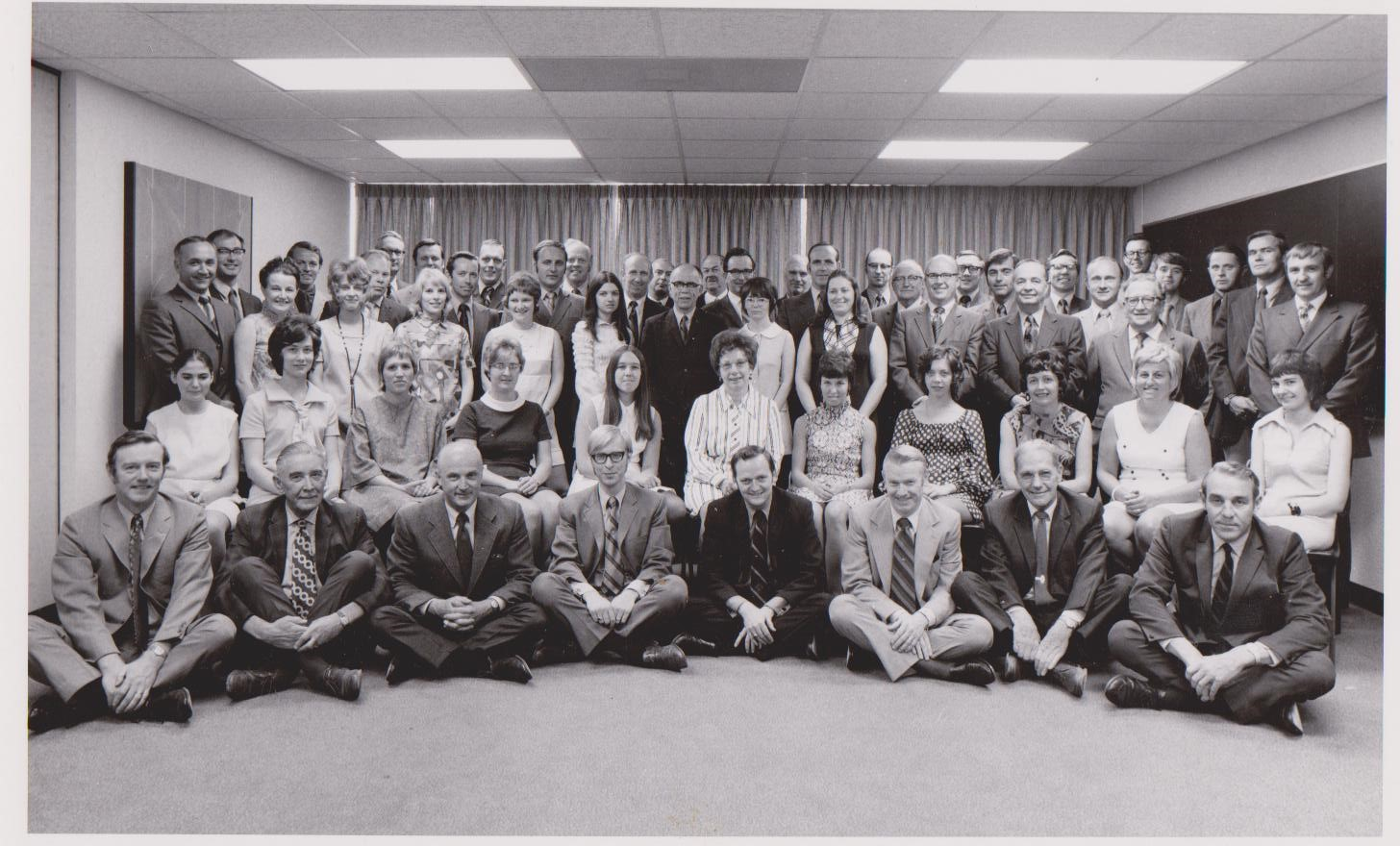 Department of Co-ordination and Career Services, now known as Co-operative Education & Career Action, in early 70's