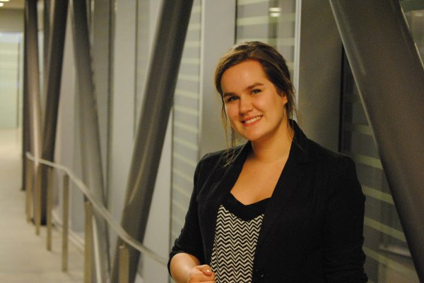 Co-op student Mackenzie Snape is a co-op student in University Relations