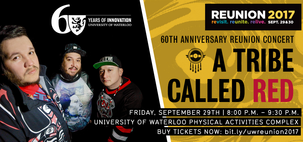 The Tribe Called Red Reunion Concert banner