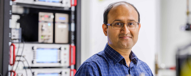 Rajibul Islam, chercheur principal au laboratoire d'informatique quantique