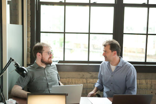 Joesph Emerson et Joel Wallman de Quantum Benchmark