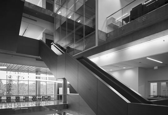 Institute for Quantum Computing floating staircase