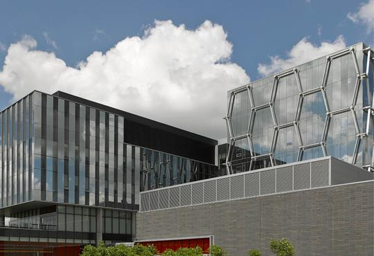 Exterior of the Mike and Ophelia Lazaridis Quantum Nano Centre at the University of Waterloo