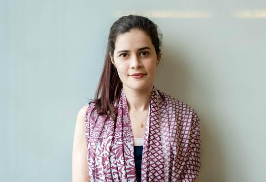 Maria Julia Maristany current graduate student of the Institute for Quantum Computing