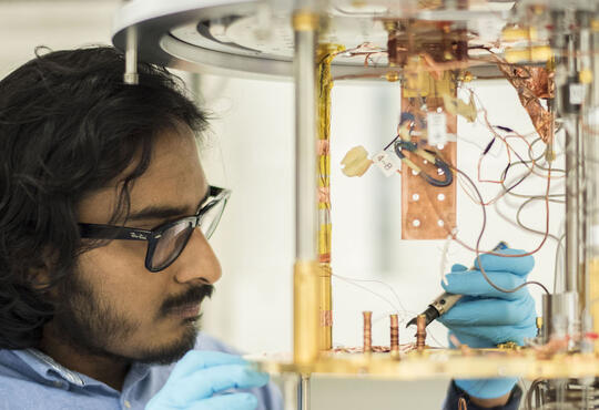 Vadiraj Ananthapadmanabha Rao, Institute for Quantum Computing PhD student
