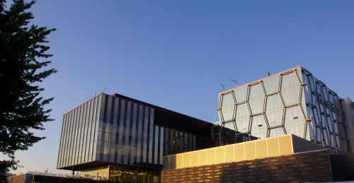 The Mike & Ophelia Lazaridis Quantum-Nano Centre building