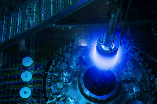 Refueling of the High Flux Isotope Reactor (HFIR) at ORNL.