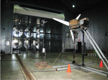 Large Scale testing area interior view