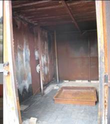 Container Test Unit Interior View