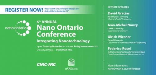 Banner for Nano Ontario Conference 2015
