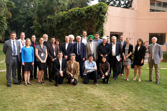 Canadian delegation at the Commonwealth Science Conference in Bangalore