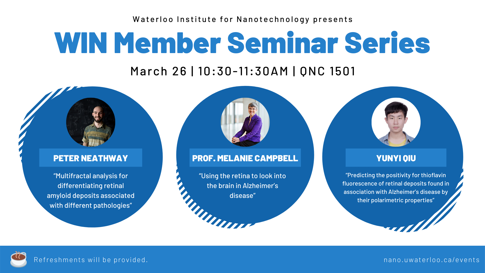 WIN Member Seminar Series Banner