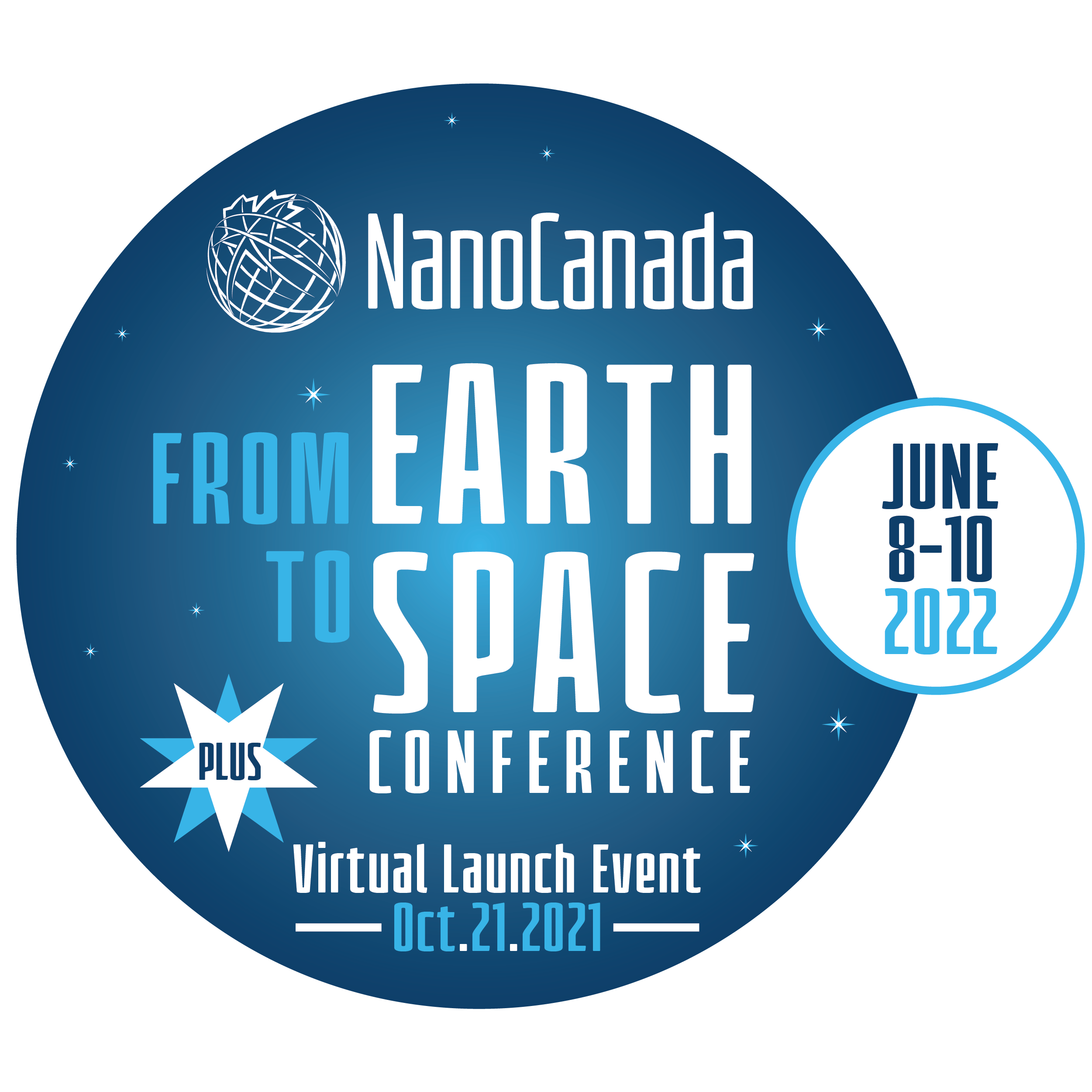 NanoCanada From Earth to Space conference logo