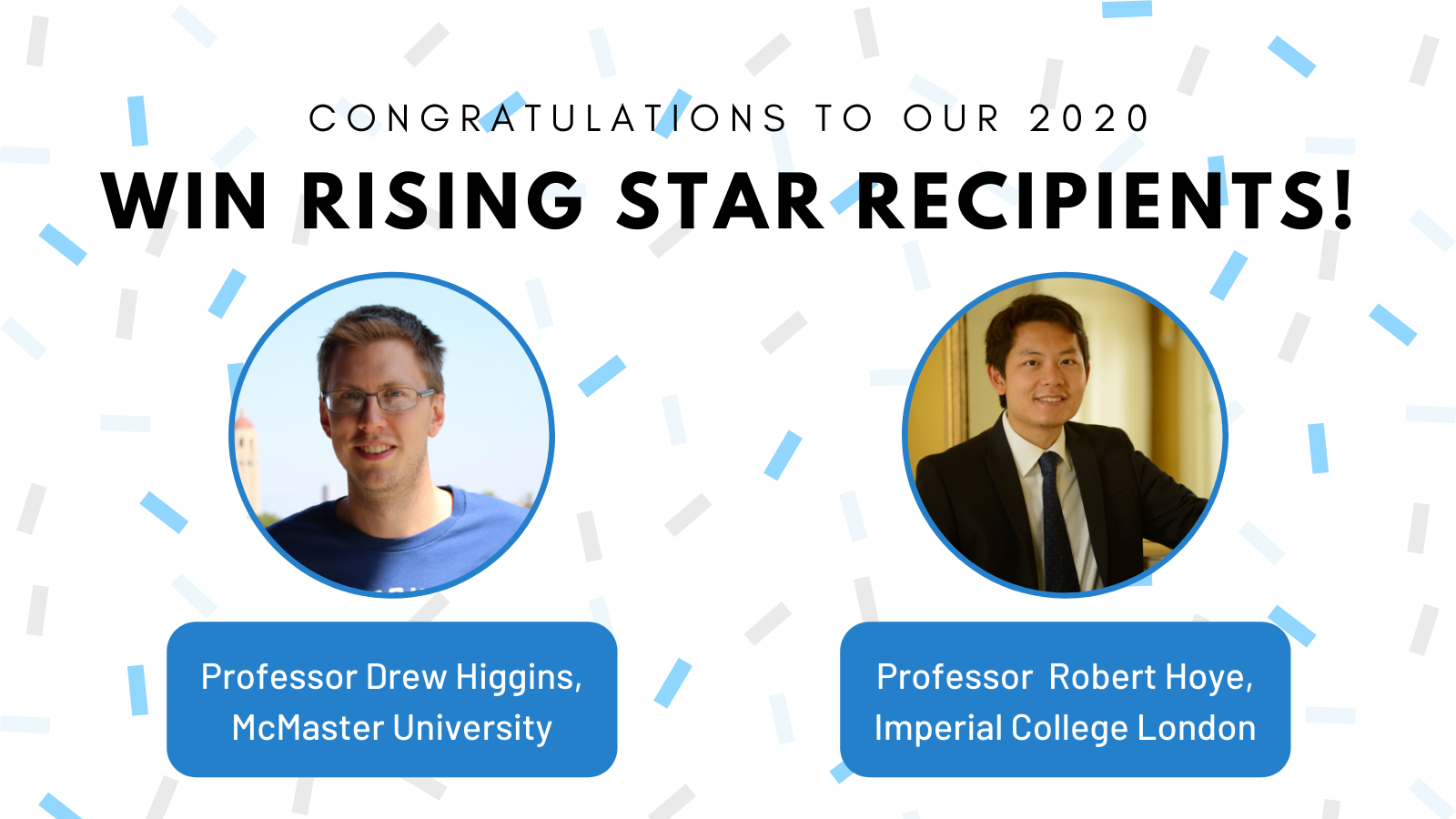 Rising Star awardees