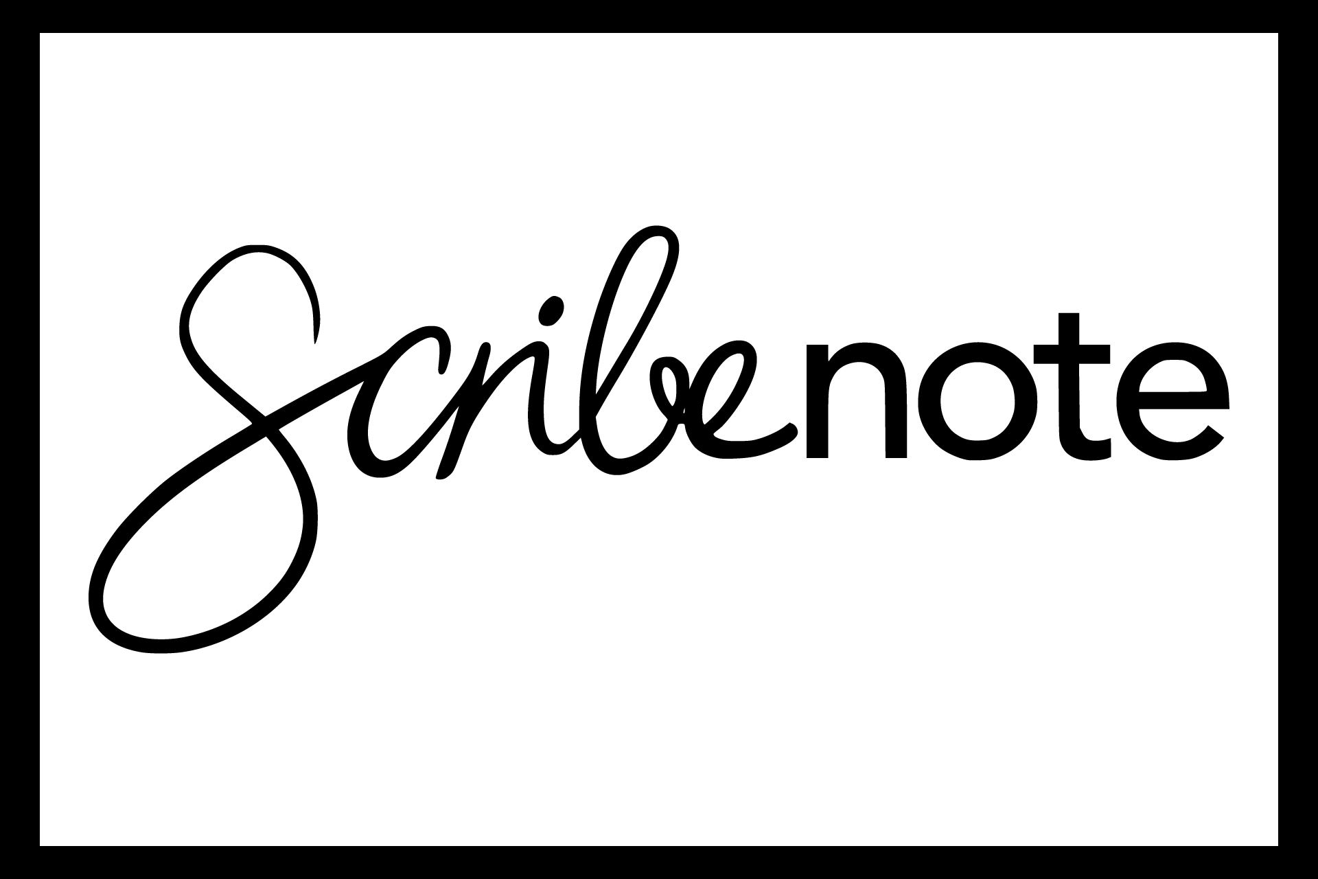 Scribenote logo