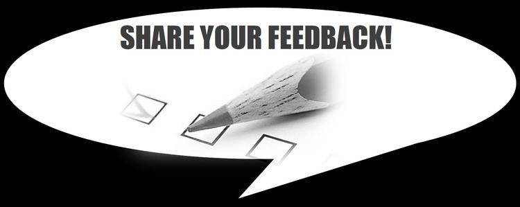 Share your feedback!