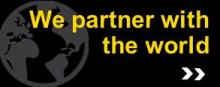 We partner with the world