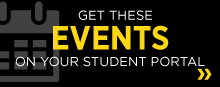Get these events on your student portal!