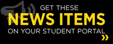 Get these news items on your student portal