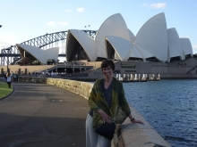 Susan Grant in Australia.