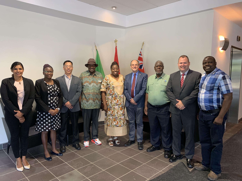Copperbelt University and Zambian High Commission Delegation