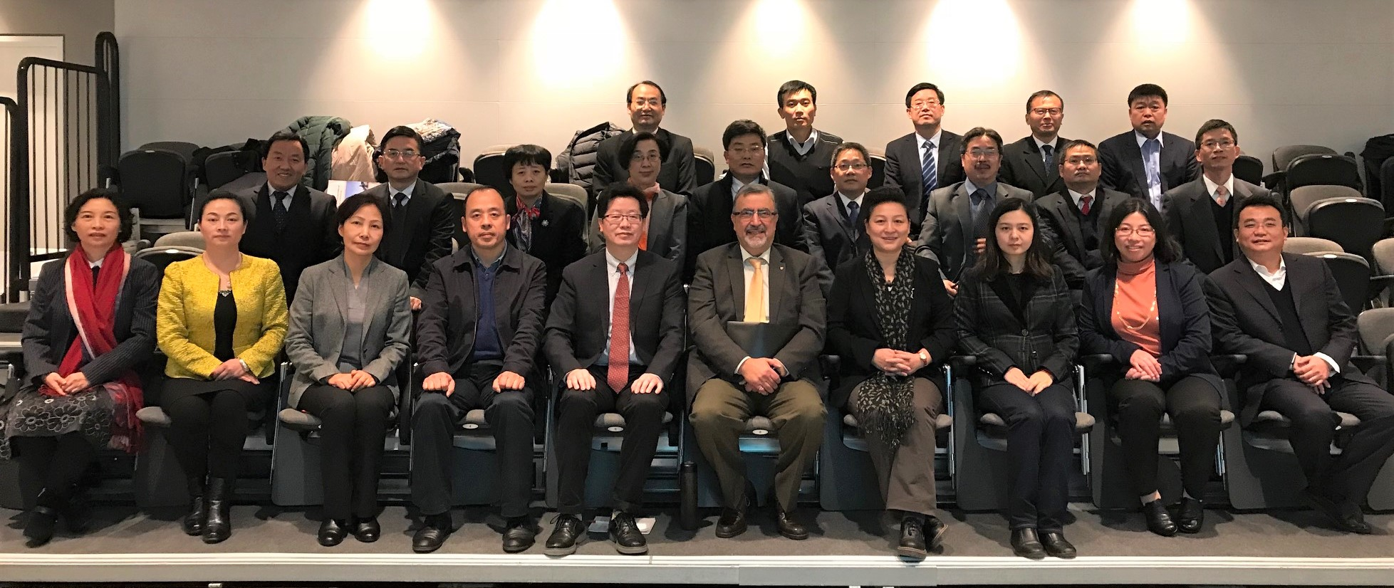 Visit of Chinese University Leaders