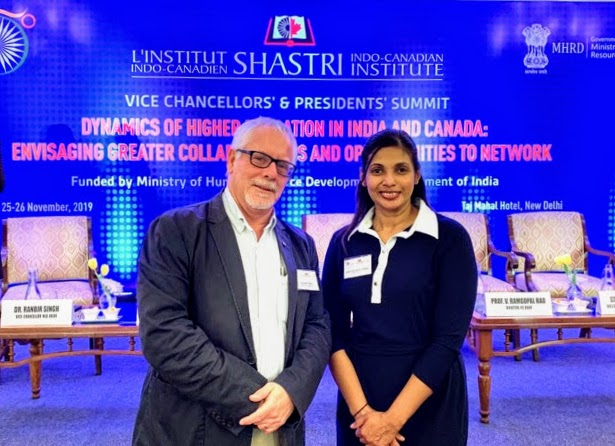 Douglas Peers, Professor of History and Ishari Waduwara-Jayabahu, International Relations Manager
