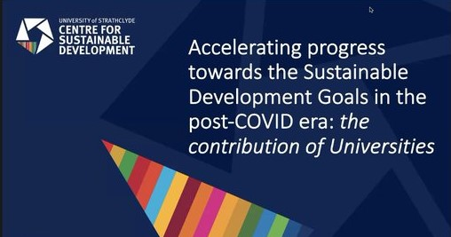 Waterloo partners with University of Strathclyde and others to host global SDG webinar