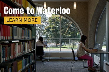 Come to Waterloo