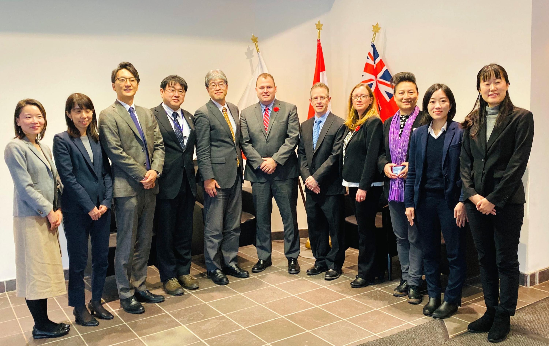 University of Tsukuba delegation