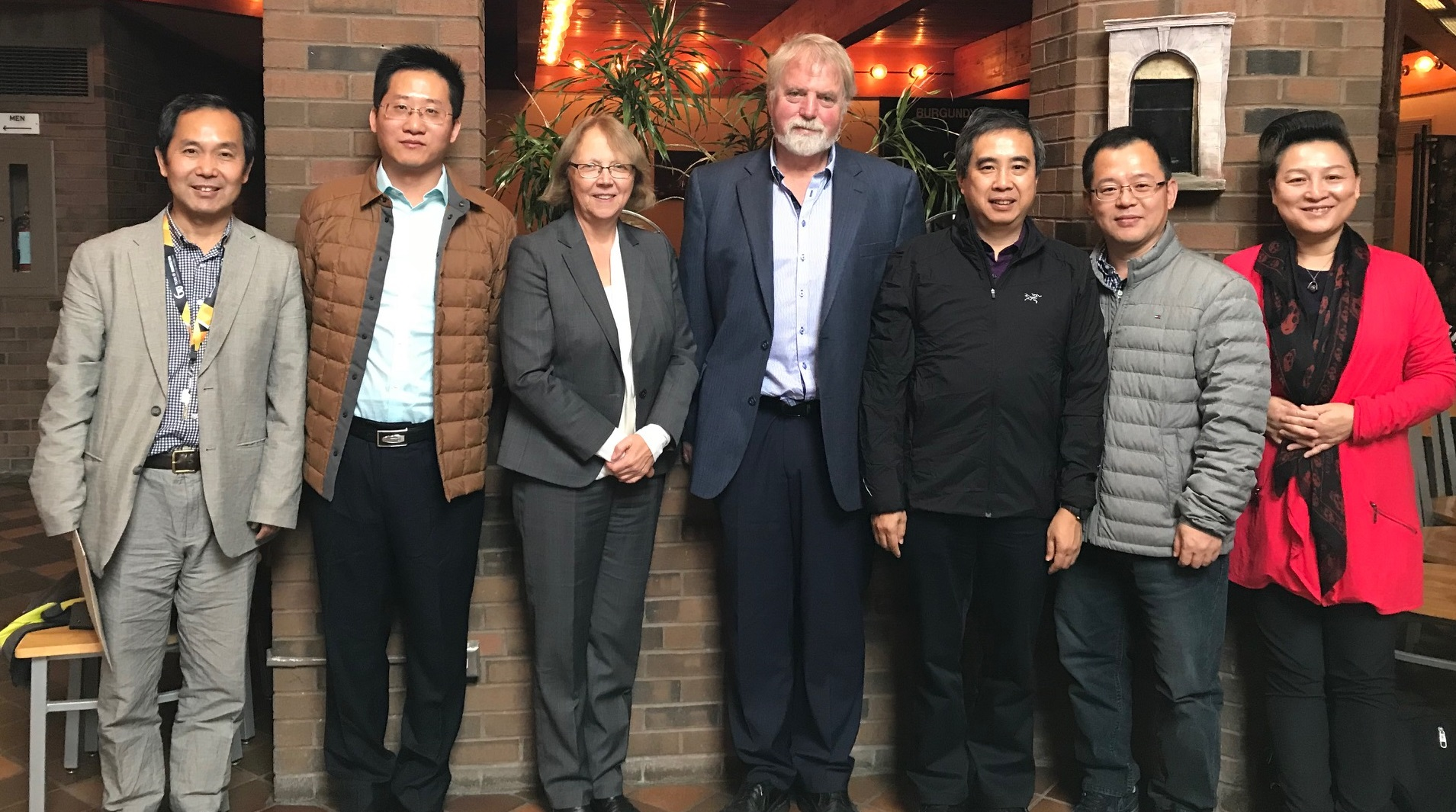 Delegates from Wuhan University