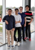 Photo of Anson, Shuo, Mitchel and Alan
