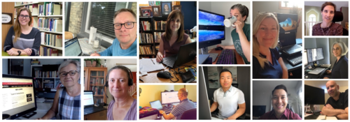 Collage of Keep Learning Team Members