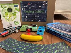 contents of the Coding cubed kit