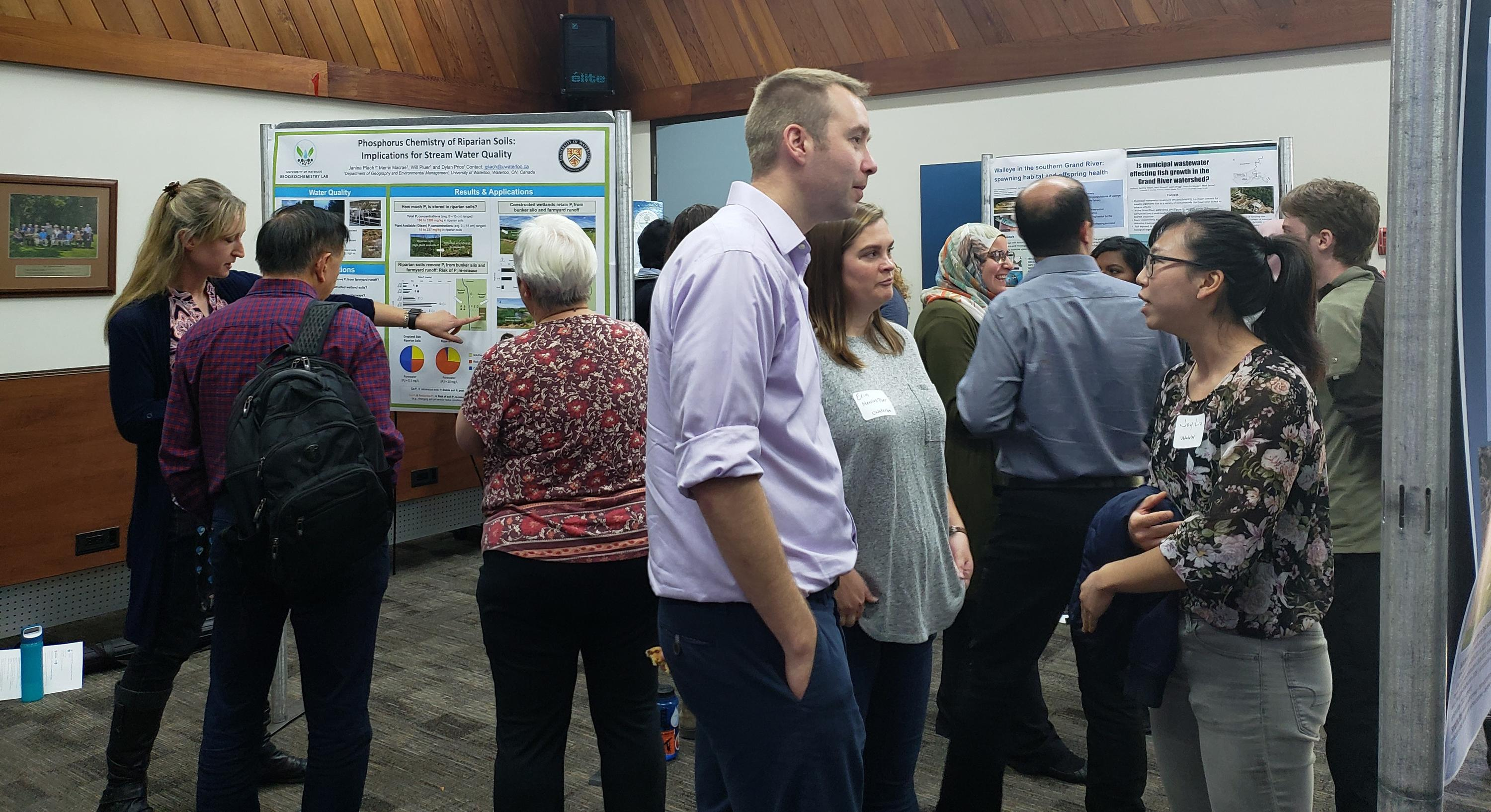 Poster session at UW Research Spotlight