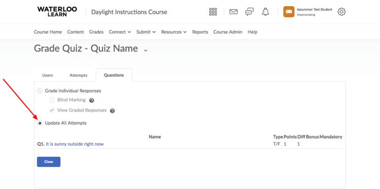 Quizzes | LEARN Help | University of Waterloo