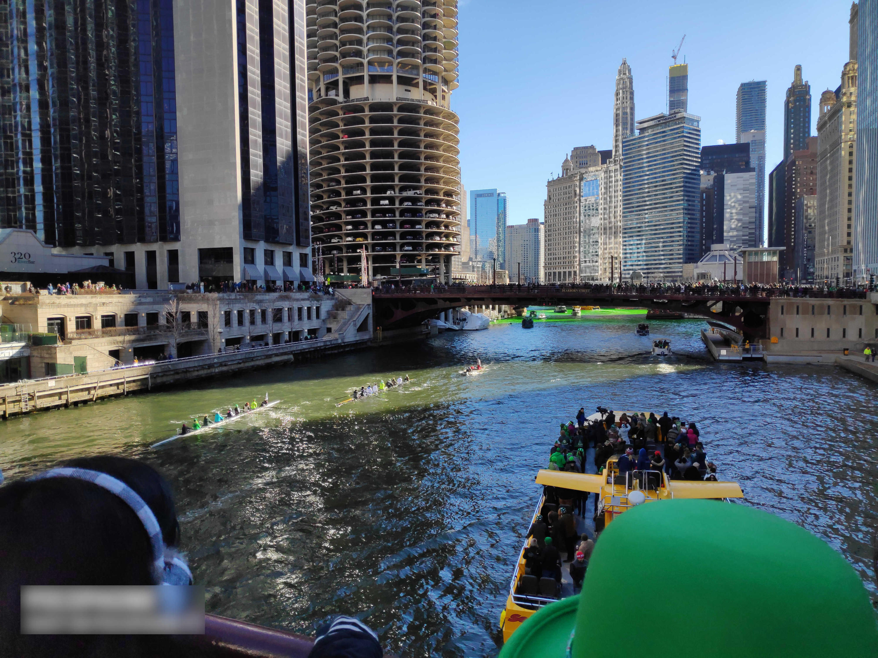 Boat cruise in Chicago