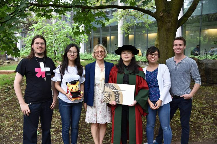 June 2017: Brenda's PhD Convocation Group Photo