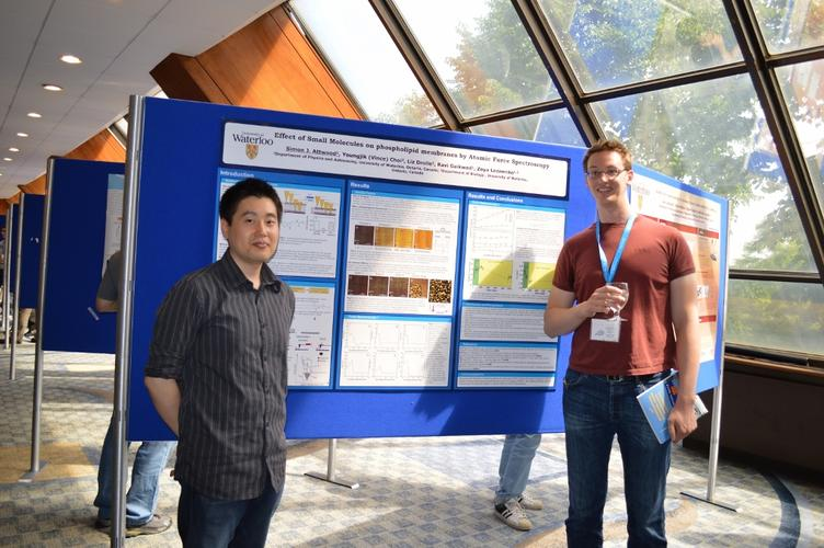 Vince and Simon at ISPM 2012 in Toronto