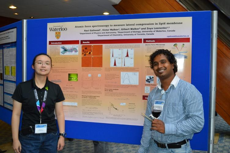 Brenda and Ravi at ISPM 2012 in Toronto