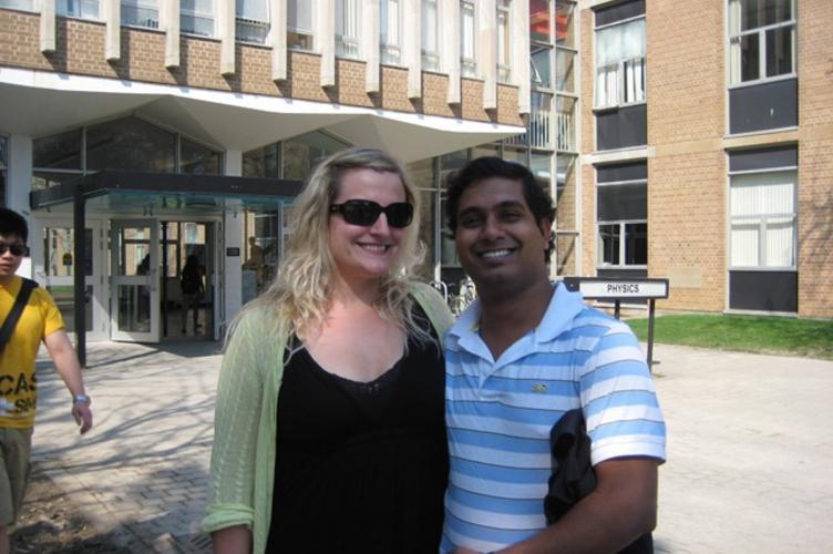 Liz and Ravi