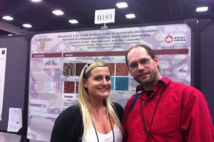 Liz Drolle and Norbert Kucerka in San Diego