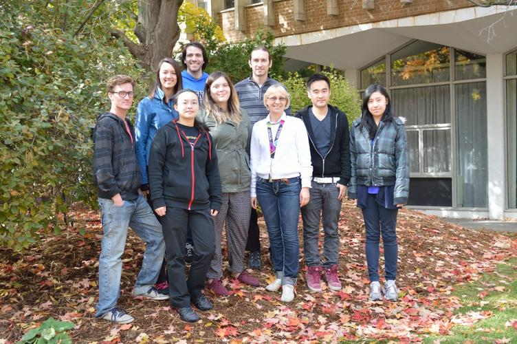 October 2015: Lab Group Photo