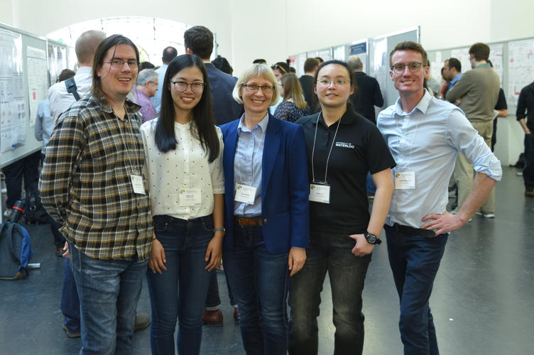 May 2017: Lab Group at Biophysical Society of Canada Meeting in Montreal, QC
