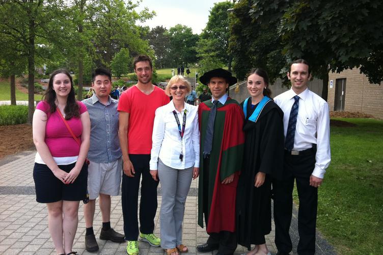 Francis (PhD) and Vicki (BSc) Convocation