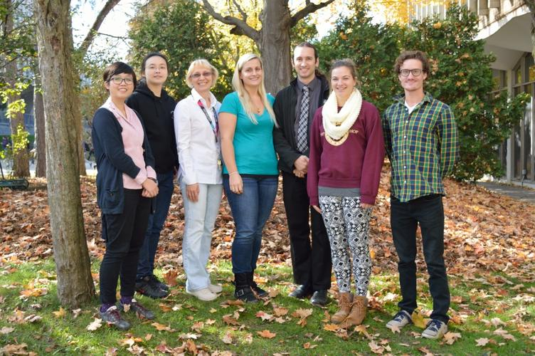October 2014: Group Photo on University of Waterloo Campus