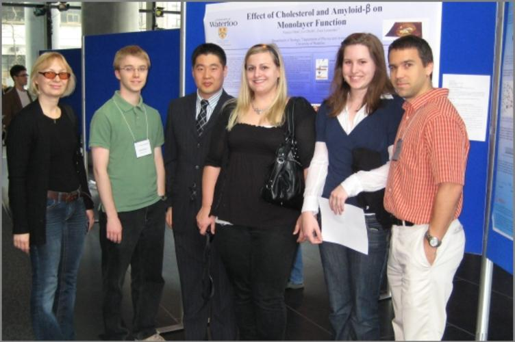 Dr. Leonenko, Brad, Vince, Liz, Erin and Francis in Toronto