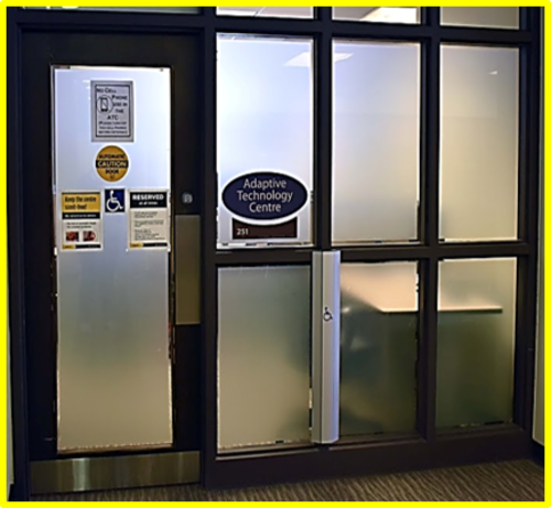 Adaptive Technology Centre entrance